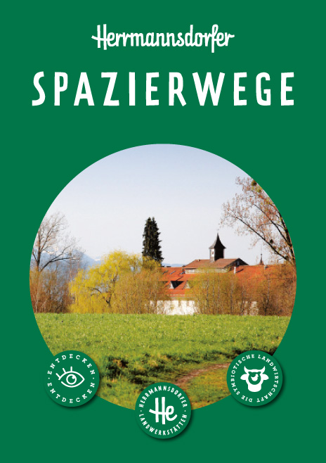 Faltplan Herrmannsdorfer Spazierwege