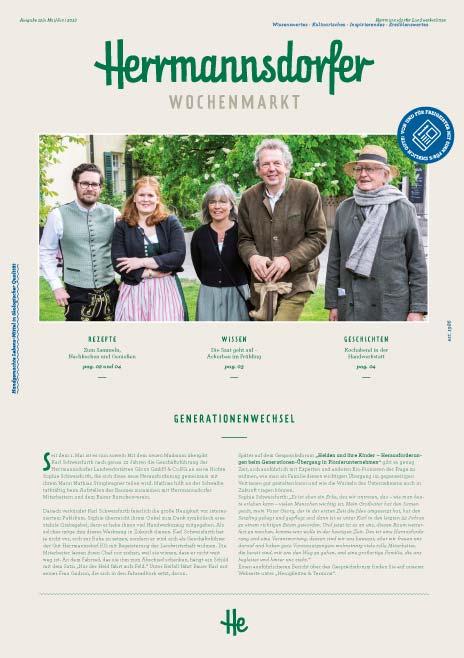 Herrmannsdorfer Wochenmarkt, Ausgabe Mai/Juni 2018