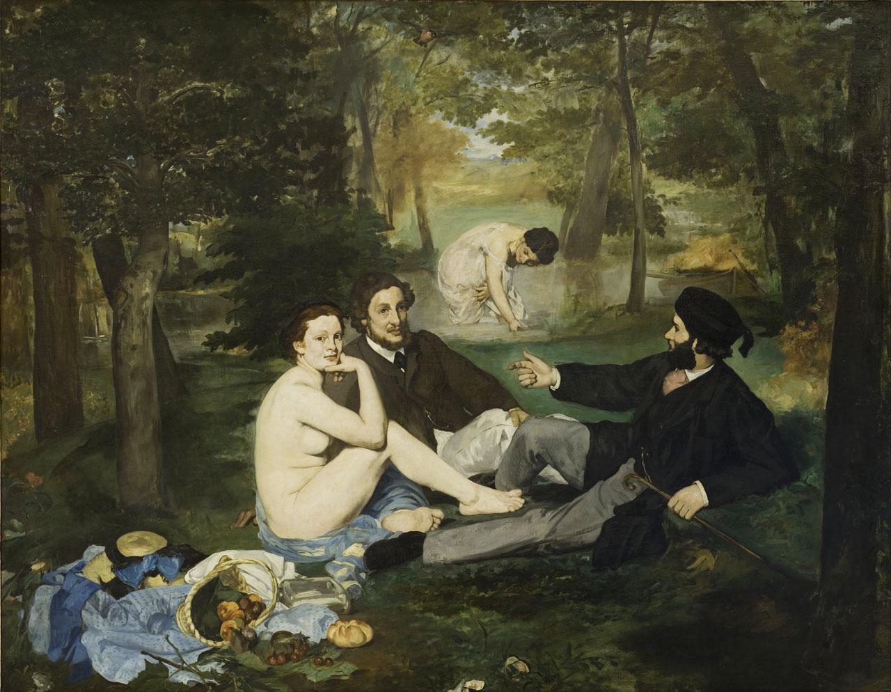 Edouard Manet, Le Dejeuner su l'Herbe