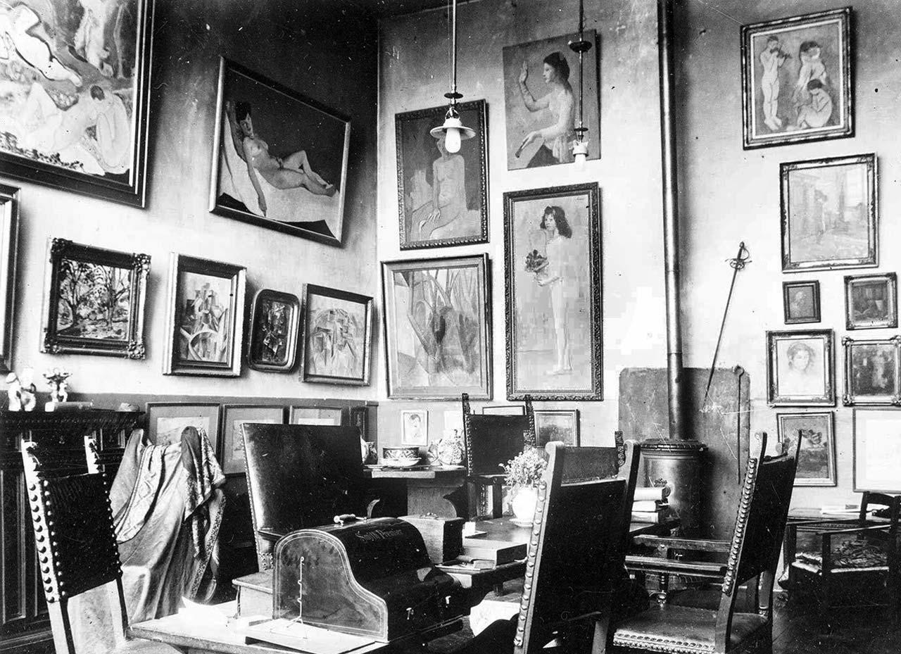 Salon von Gertrude Stein