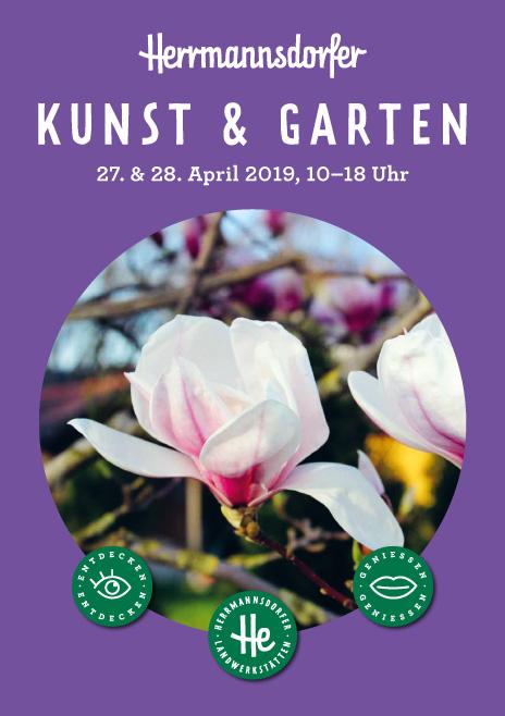 """Flyer """"Herrmannsdorfer Gartenmarkt 2019"""""""