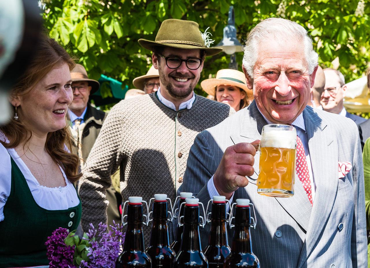 Prinz Charles in Herrmannsdorf